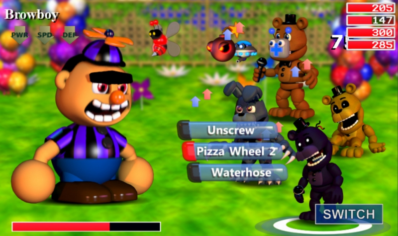 Pantallazo Five Nights At Freddy's World