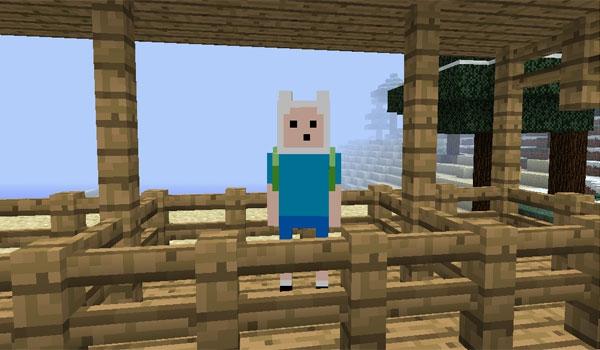 Pantallazo Minecraft Hora de Aventuras