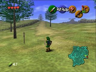 Pantallazo The Legend of Zelda: Ocarina of Time