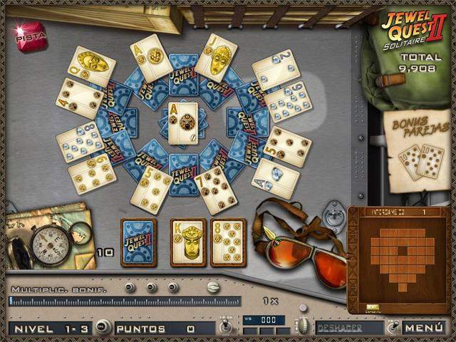 Pantallazo Jewel Quest Solitaire 2