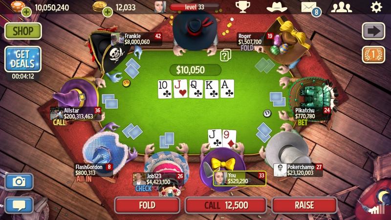 Pantallazo Governor of Poker 3