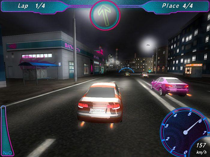 Pantallazo Midnight Racing