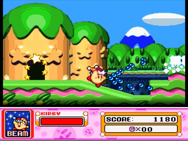 Pantallazo Kirby Super Star