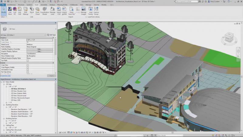 Pantallazo Autodesk Revit