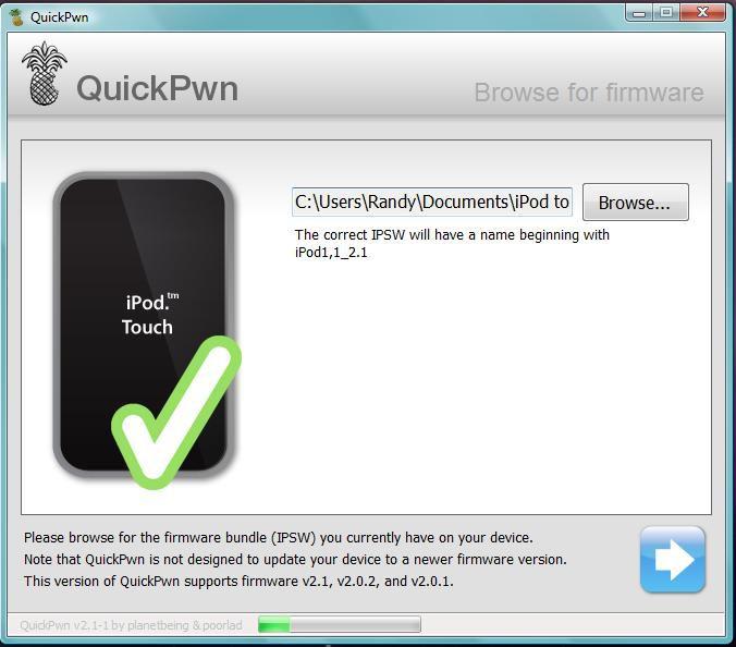 quickpwn 2.2.5