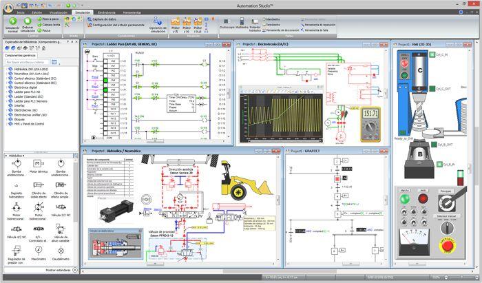 Pantallazo Automation Studio