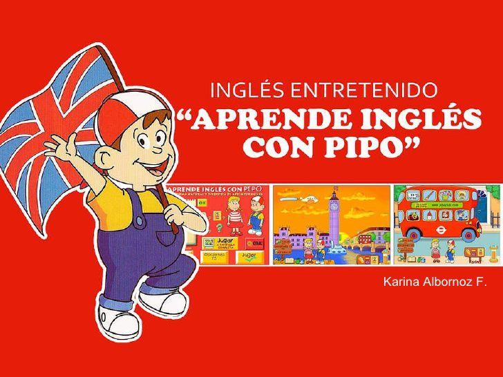 Pantallazo Aprende Inglés con Pipo