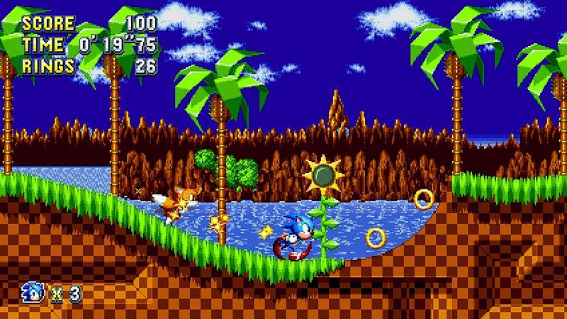 Pantallazo Sonic Mania