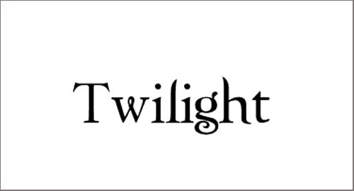Pantallazo Twilight Font