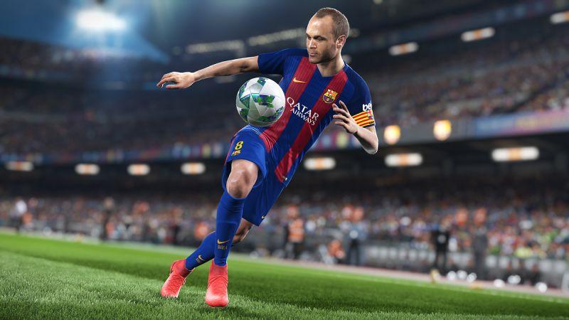 Pantallazo Pro Evolution Soccer 2018