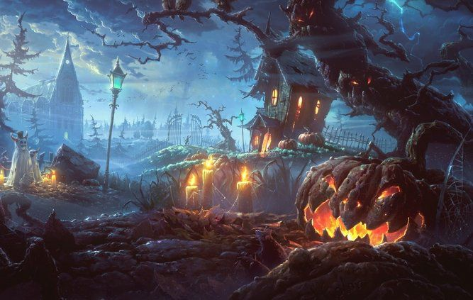 Pantallazo Halloween Theme