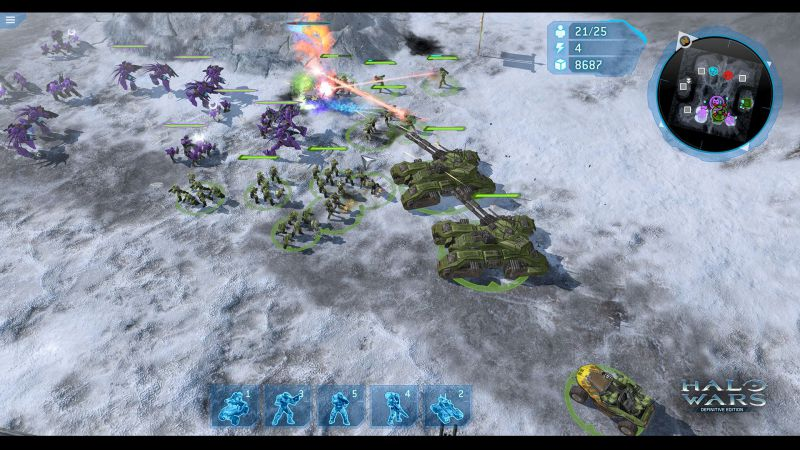 Pantallazo Halo Wars: Definitive Edition
