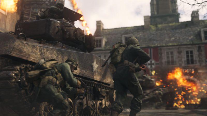 Pantallazo Call of Duty: WWII