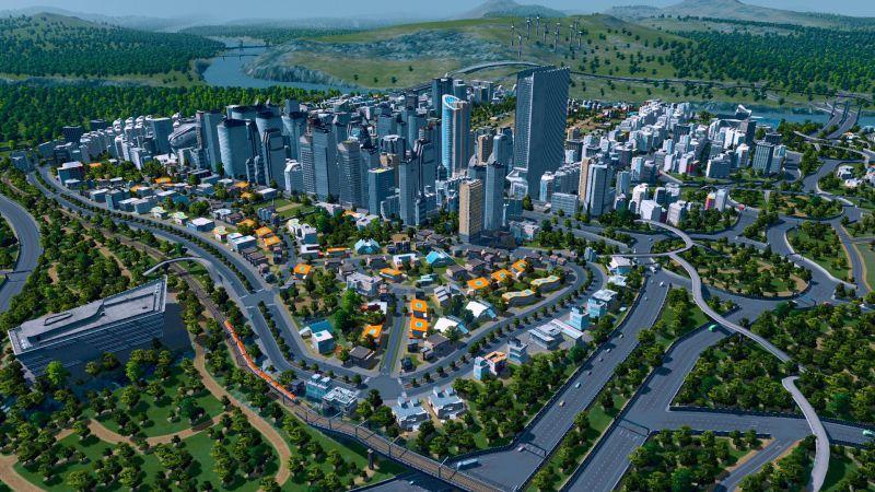 Pantallazo Cities: Skylines