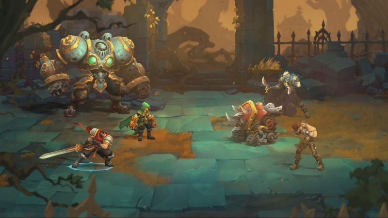 Pantallazo Battle Chasers: Nightwar