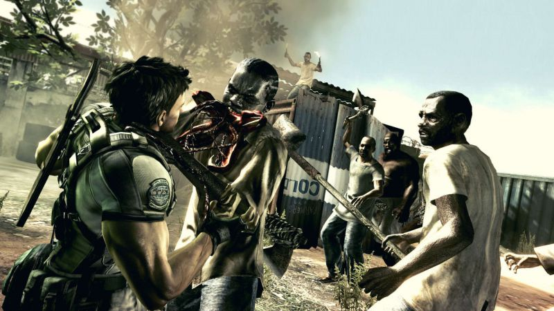 Pantallazo Resident Evil 5