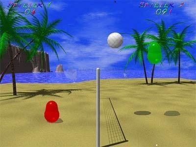 Pantallazo Blobby Volley (Volley Ball)