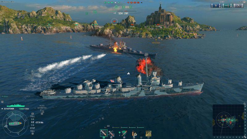 Pantallazo World of Warships