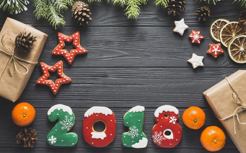 Pantallazo Happy New Year 2018