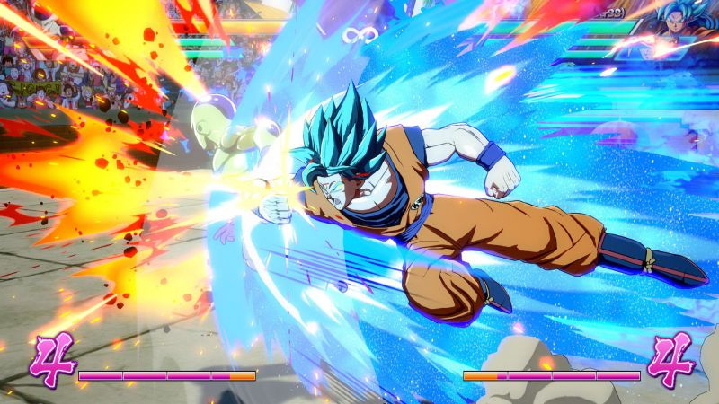 Pantallazo Dragon Ball FighterZ