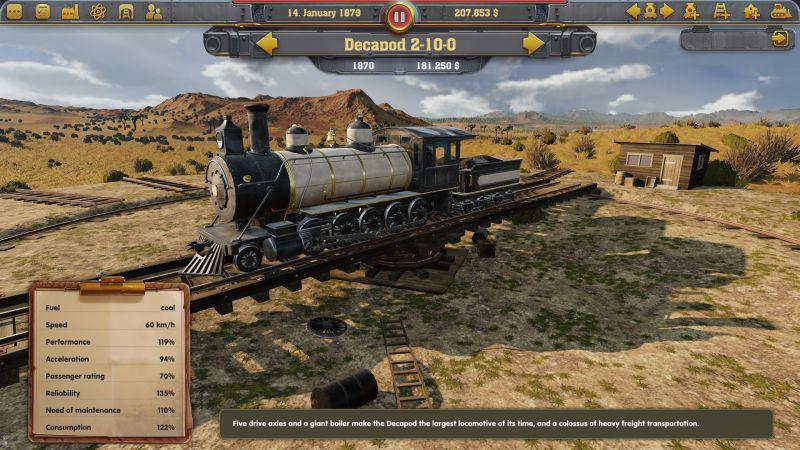 Pantallazo Railway Empire