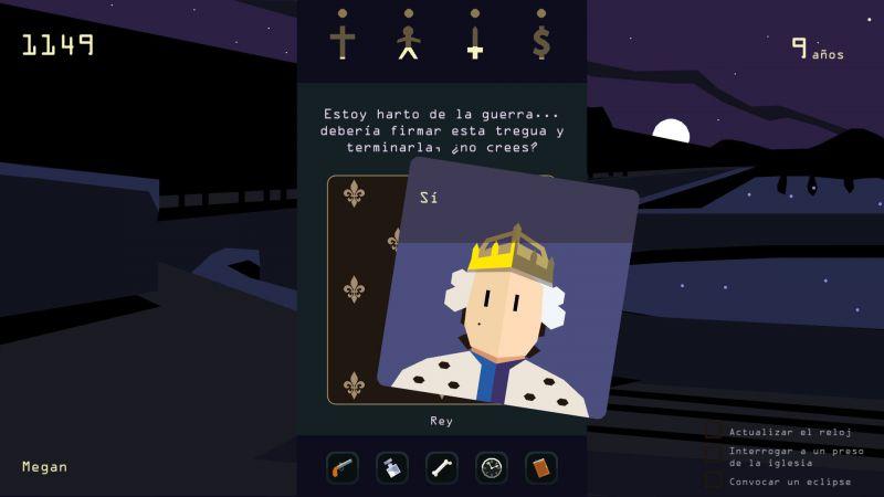 Pantallazo Reigns: Her Majesty