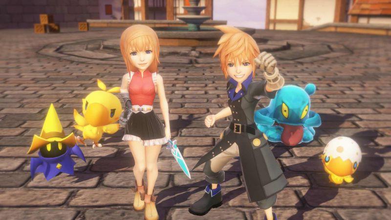 Pantallazo World of Final Fantasy