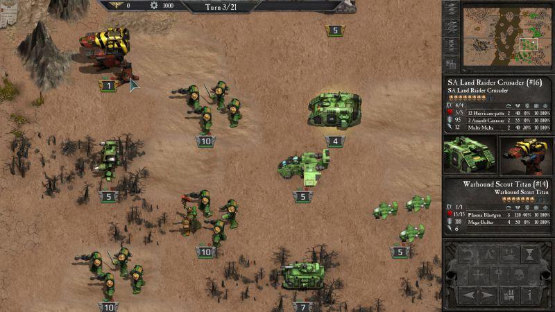 Pantallazo Warhammer 40.000 Armageddon