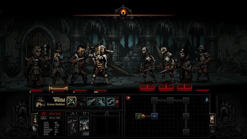Pantallazo Darkest Dungeon