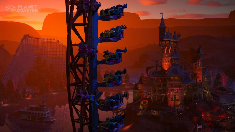 Pantallazo Planet Coaster