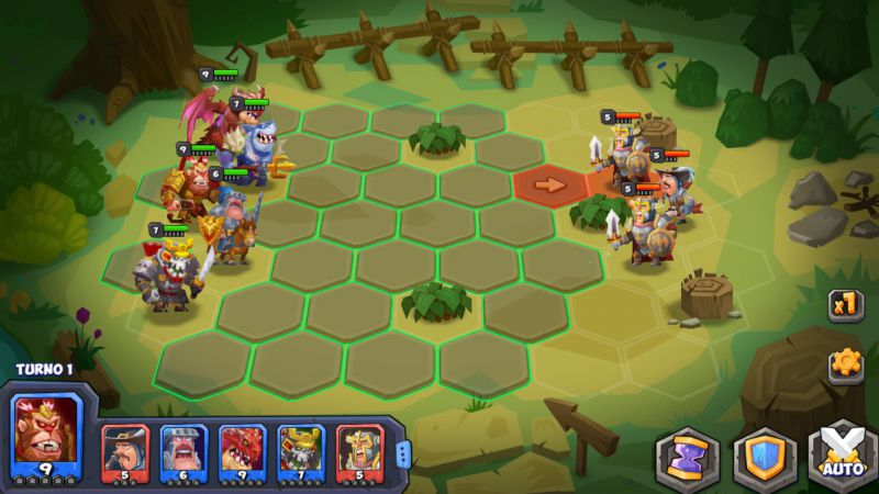 Pantallazo Tactical Monsters Rumble Arena