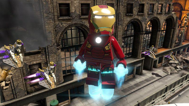 Pantallazo LEGO Marvel's Avengers