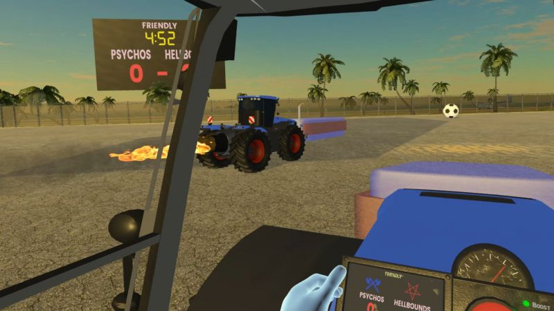 Pantallazo Tractorball