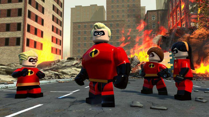 Pantallazo LEGO The Incredibles