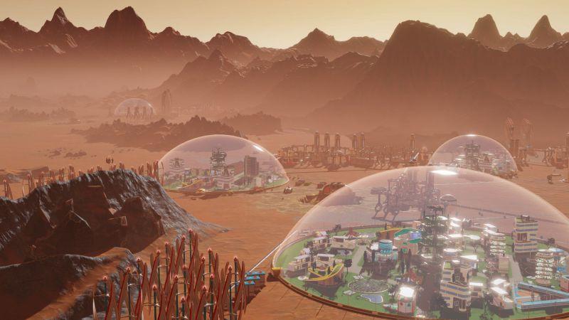 Pantallazo Surviving Mars