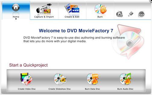 Pantallazo DVD MovieFactory Pro