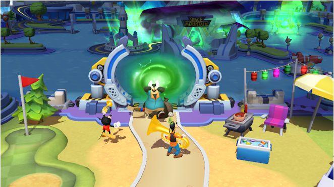 Pantallazo Disney Magic Kingdoms
