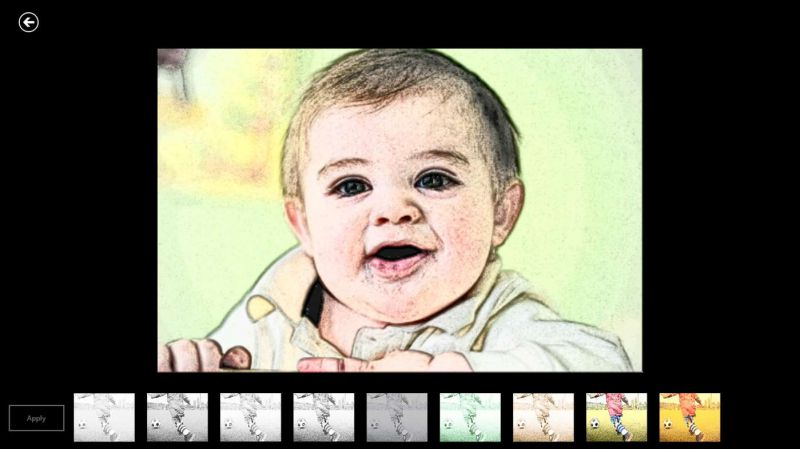 Pantallazo Pixel Photo Editor