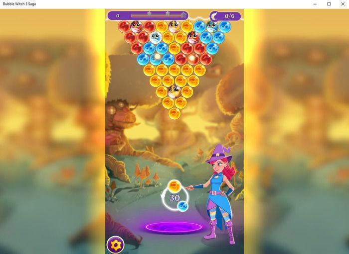 Pantallazo Bubble Witch 3 Saga