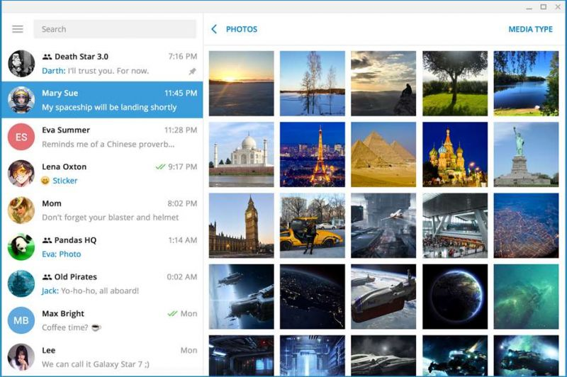 🌟 Bajar Telegram Desktop en español