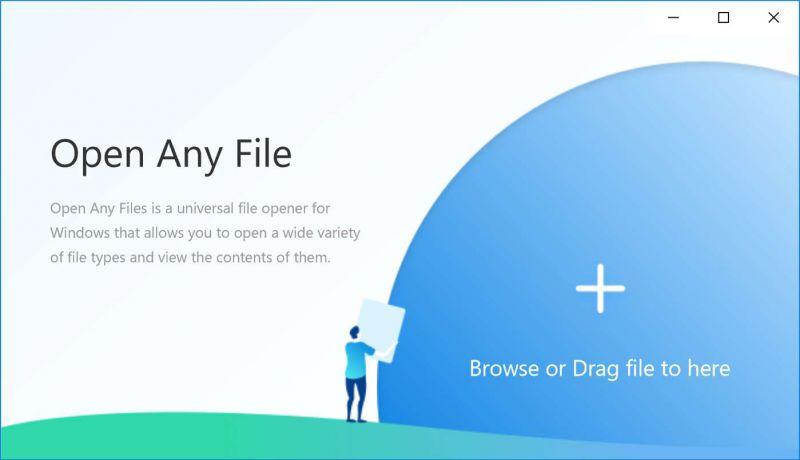 Pantallazo Open Any File