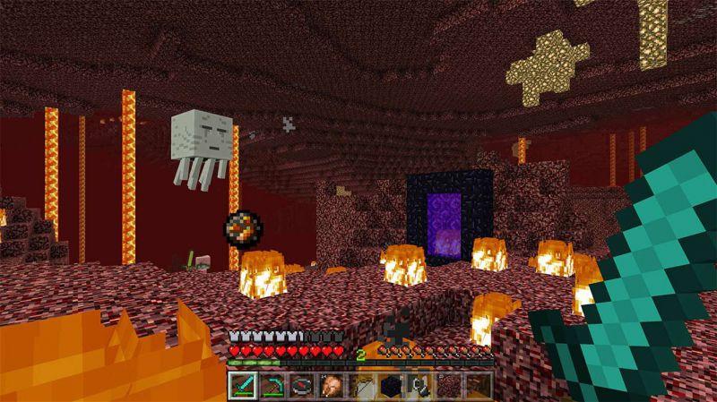 Pantallazo Minecraft for Windows 10