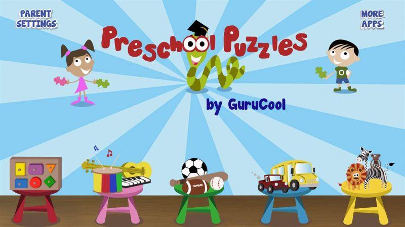 Pantallazo PreSchool Puzzles