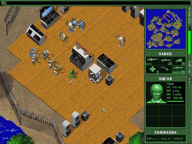 Pantallazo Army Men 2