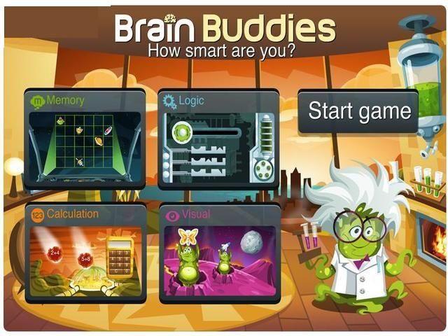 Juego de Entrenamiento Mental PC Brain Buddies