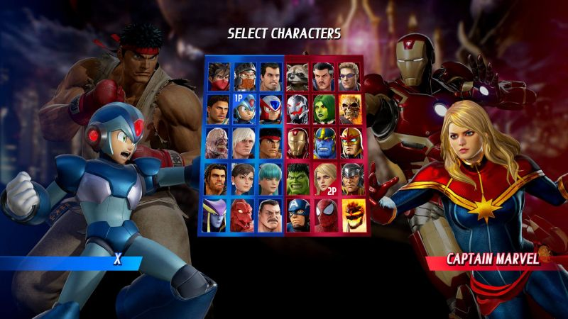 Pantallazo Marvel vs. Capcom: Infinite