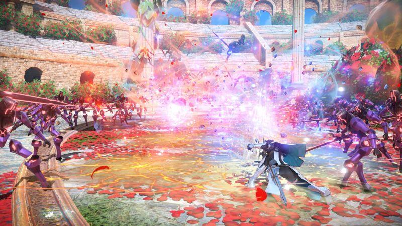 Pantallazo Fate/EXTELLA Link