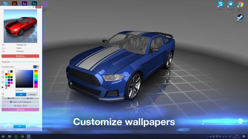 Pantallazo Wallpaper Engine