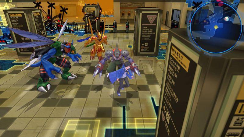 Pantallazo Digimon Story Cyber Sleuth