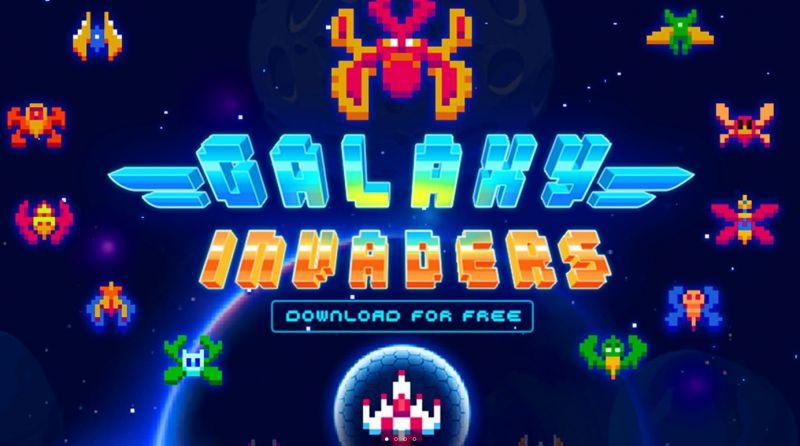 Pantallazo Space Invaders Radiant